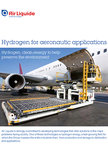 hydrogen for aeronautic brochure cover