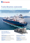 Turbo Brayton subcooler LNG boil-off liquefaction