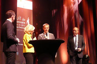 "Air Liquide is the ""Leader of the year 2015"" at the Economy Night Grenoble"