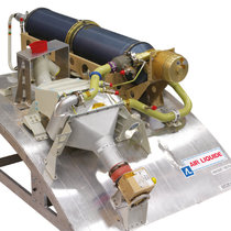 Obiggs for military aircraft. NGS Nitrogen Generating System. Inerting system.