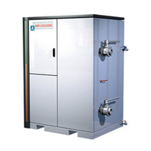 ALASKA LN2 FOR FREEZE-DRYING: Cryogenic heat exchanger