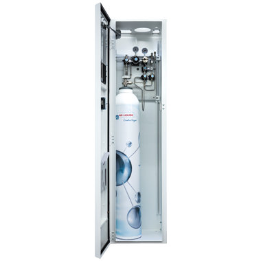 Alim - Gas distribution cabinet for laboratory