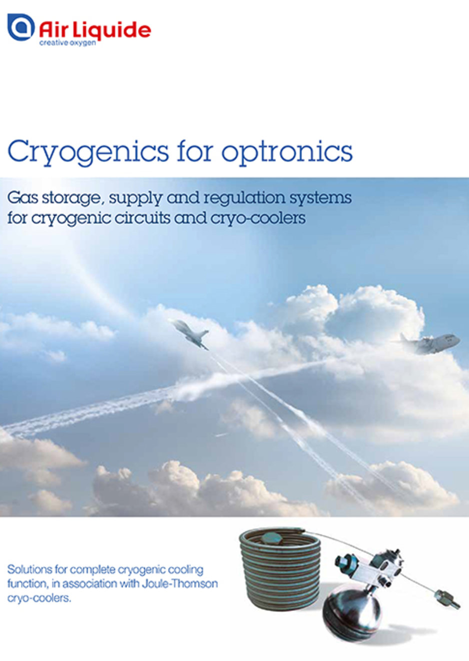 cryogenics for oprtonics brochure cover