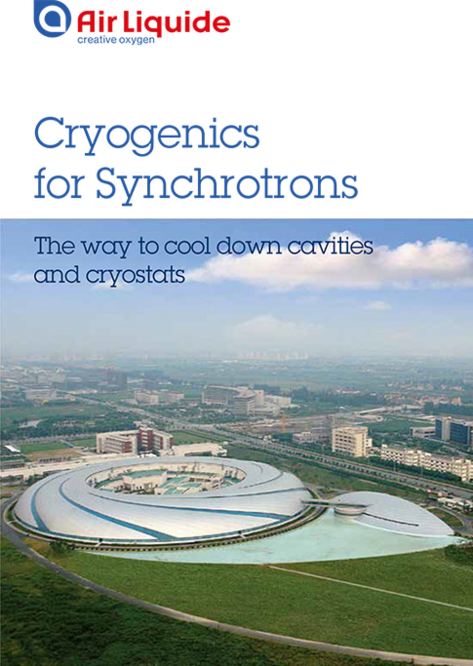 cryogenics for synchrotrons brochure cover