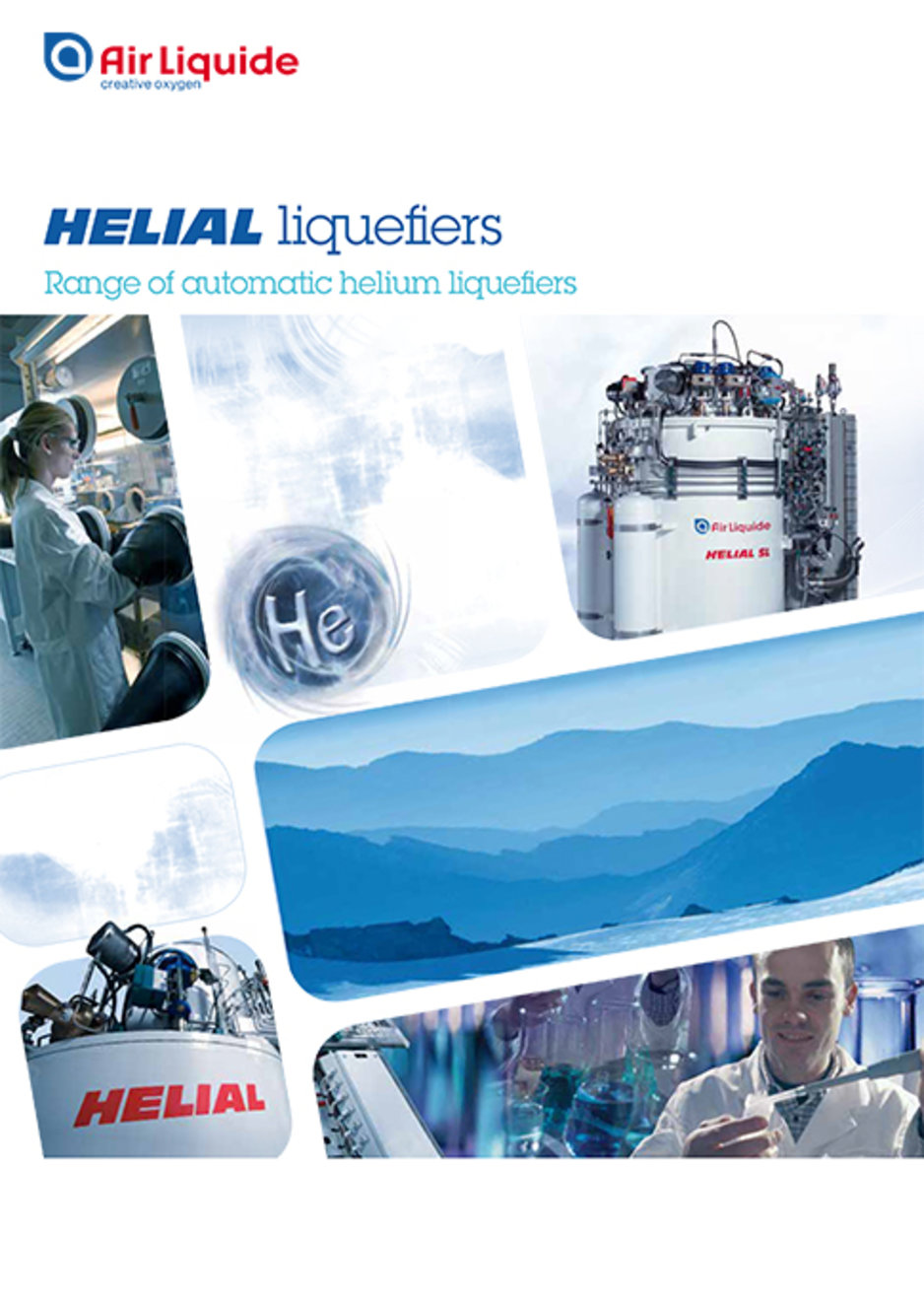 helial liquefiers brochure cover